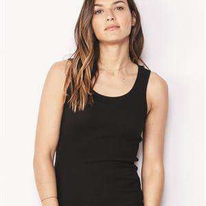 Bella + Canvas Women's Airlume 2x1 Rib Tank Top - 4000