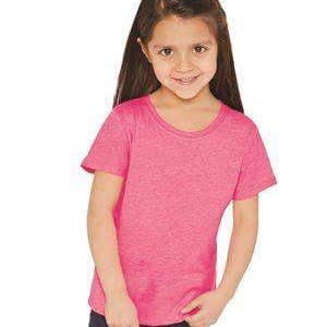 Next Level Girl's Princess Side Seam Crew T-Shirt - 3712