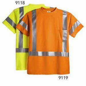 ML Kishigo Men's Class 3 Safety T-Shirt - 9119
