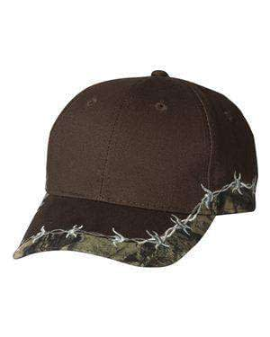 Outdoor Cap Barbed Wire Camouflage Cap - BRB605