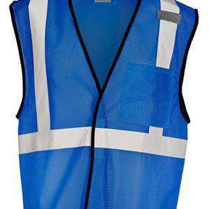 ML Kishigo Men's Enhance Visibility Mesh Safety Vest - B127