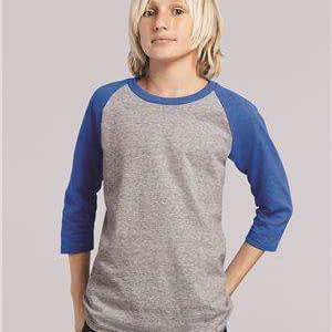 Gildan Youth Heavy Cotton™ Raglan Baseball T-Shirt - 5700B