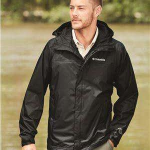 Columbia Men's Packable Hoodie Rain Jacket - 153389