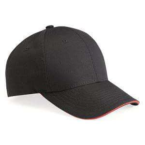 Valucap Mid-Profile Sandwich Twill Cap - VC950