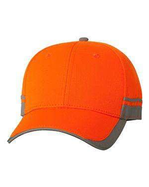 Outdoor Cap Reflective Low-Profile Safety Cap - SAF201