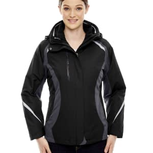 North End Women's Height 3-in-1 Insulated Hooded Jacket - 78195