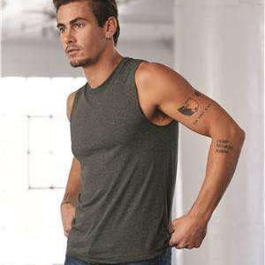 Bella + Canvas Men's Jersey Muscle Tank Top - 3483