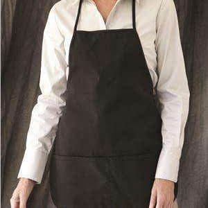 Liberty Bags Debbie Two-Pocket Bib Apron - 5503
