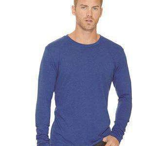 Next Level Men's Tri-Blend Long Sleeve Crew T-Shirt - 6071