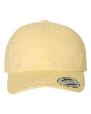 Yupoong Dad's Peached Twill Cap - 6245PT
