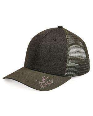 Dri Duck Buck Head Structured Trucker Cap - 3459