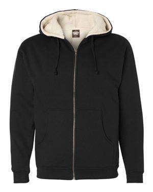 Independent Trading Men's Sherpa-Lined Hoodie Sweatshirt - EXP40SHZ