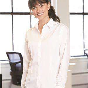 Van Heusen Women's Flex Four-Way Stretch Dress Shirt - 13V0462