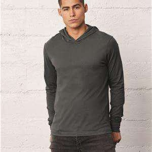 Bella + Canvas Unisex Long Sleeve Hoodie T-Shirt - 3512