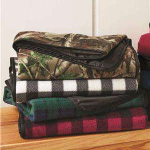 Alpine Fleece Patterned Picnic Blanket - 8702