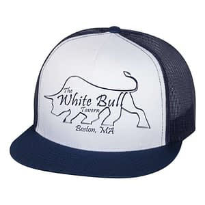White Bull Boston Trucker Hat
