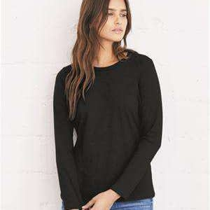 Bella + Canvas Women's Relaxed Long Sleeve T-Shirt - 6450