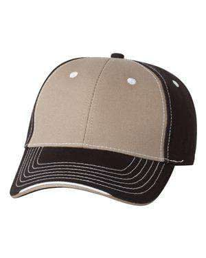 Sportsman Tri-Color Mid-Profile Cap - 9500