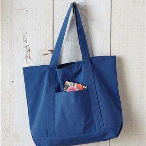 Liberty Bags Premium Canvas Boat Tote Bag - 8879