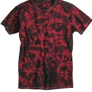 Dyenomite Men's Crystal Tie-Dye T-Shirt - 200CR