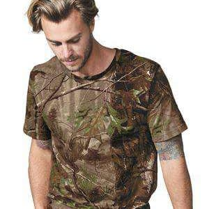 Code Five Men's Realtree® Camouflage T-Shirt - 3980