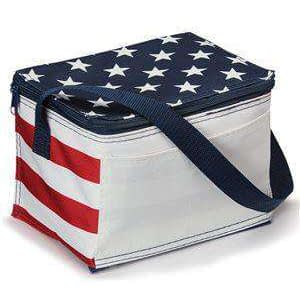 OAD Americana Six-Can Cooler Bag - OAD5051
