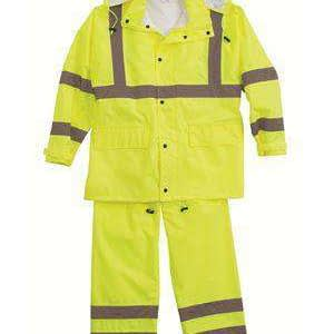 ML Kishigo Men's Hi-Visibility Full Safety Rain Suit - 111