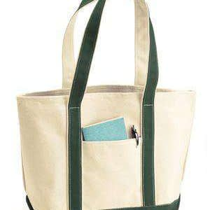 Liberty Bags Large Canvas Boat Tote Bag - 8871