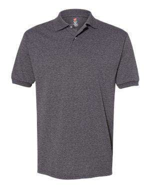 Hanes Men's EcoSmart® Jersey Polo Shirt - 054X