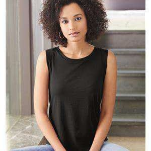 Alternative Women's Satin Sleeveless T-Shirt - 4013