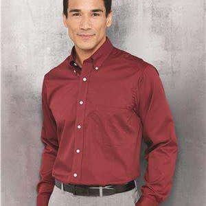 Van Heusen Men's Long Sleeve Baby Twill Dress Shirt - 13V0521