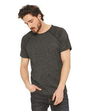 Next Level Men's Mock Twist Raglan Crew T-Shirt - 2050