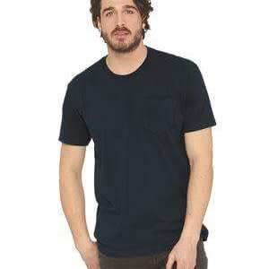 Next Level Men's Lightweight Pocket Crew T-Shirt - 3605