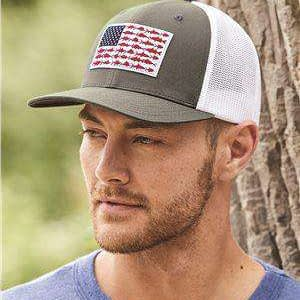 Columbia Fish Flag Sunblock Trucker Cap - 183681