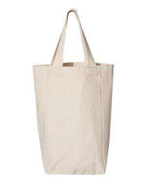 OAD Two-Bottle Wine Canvas Tote Bag - OAD112