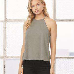 Bella + Canvas Women's Flowy High Neck Tank Top - 8809