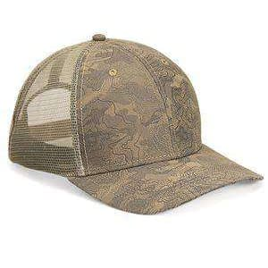 Dri Duck Territory Six-Panel Trucker Cap - 3458