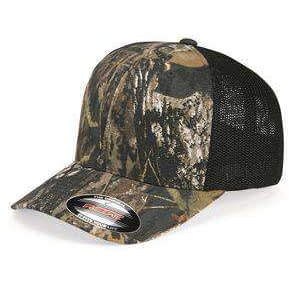 Flexfit Mossy Oak Stretch Mesh Trucker Cap - 6911