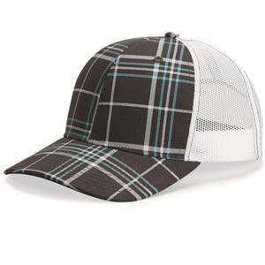 Richardson Patterned Snapback Trucker Cap - 112P