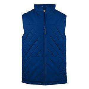 Badger Sport Men's Pouch Pocket Quilted Vest - 7660