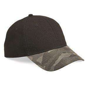 Outdoor Cap Camouflage Visor Canvas Cap - GHP100