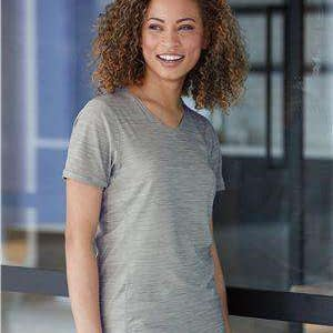 Adidas Women's Tech V-Neck T-Shirt - A373