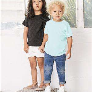 Bella + Canvas Toddler Tri-Blend Crew Neck T-Shirt - 3413T