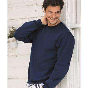 Fruit of the Loom Men's Sofspun® V-Notch Sweatshirt - SF72R