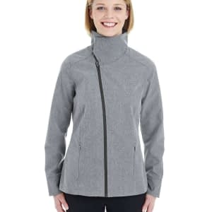 North End Women's Edge Convertible Collar Soft Shell Jacket - NE705W