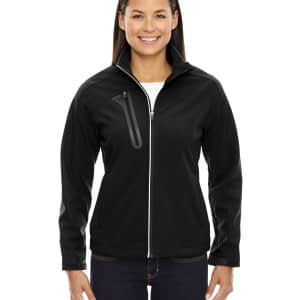 North End Women's Terrain Embossed Fleece Soft Shell Jacket - 78176