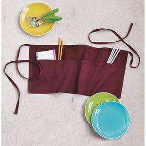 Q-Tees Three-Section Pocket Waist Apron - Q2115