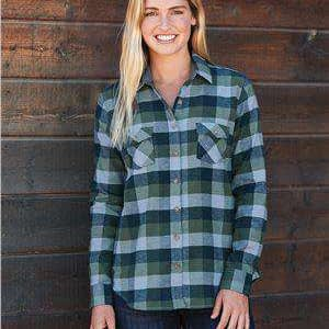 Weatherproof Women's Long Sleeve Flannel Shirt - W164761