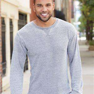 J America Men's Vintage Zen Long Sleeve Thermal T-Shirt - 8241