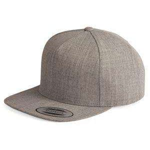 Yupoong Five-Panel Wool Blend Snapback Cap - 5089M